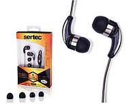 Гарнитура наушники Samsung D880, c5212, s5230, e210, s3600 для мобильного телефона sertec черные