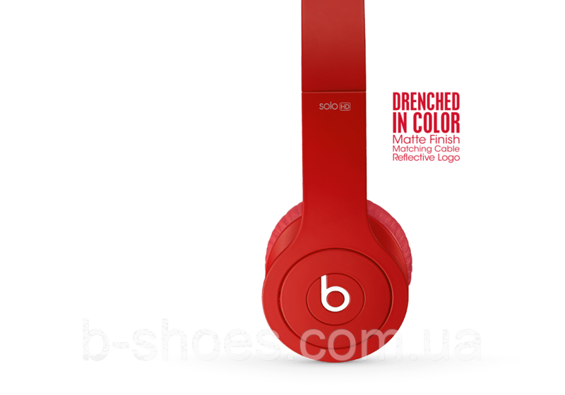 Beats by dr.dre Solo 2 Red