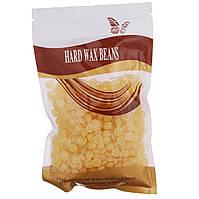 Воск в гранулах HARD WAX BEANS 100 гр Желтый