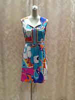 Платье бирюзовое без рукава Trino Turk, фото 1