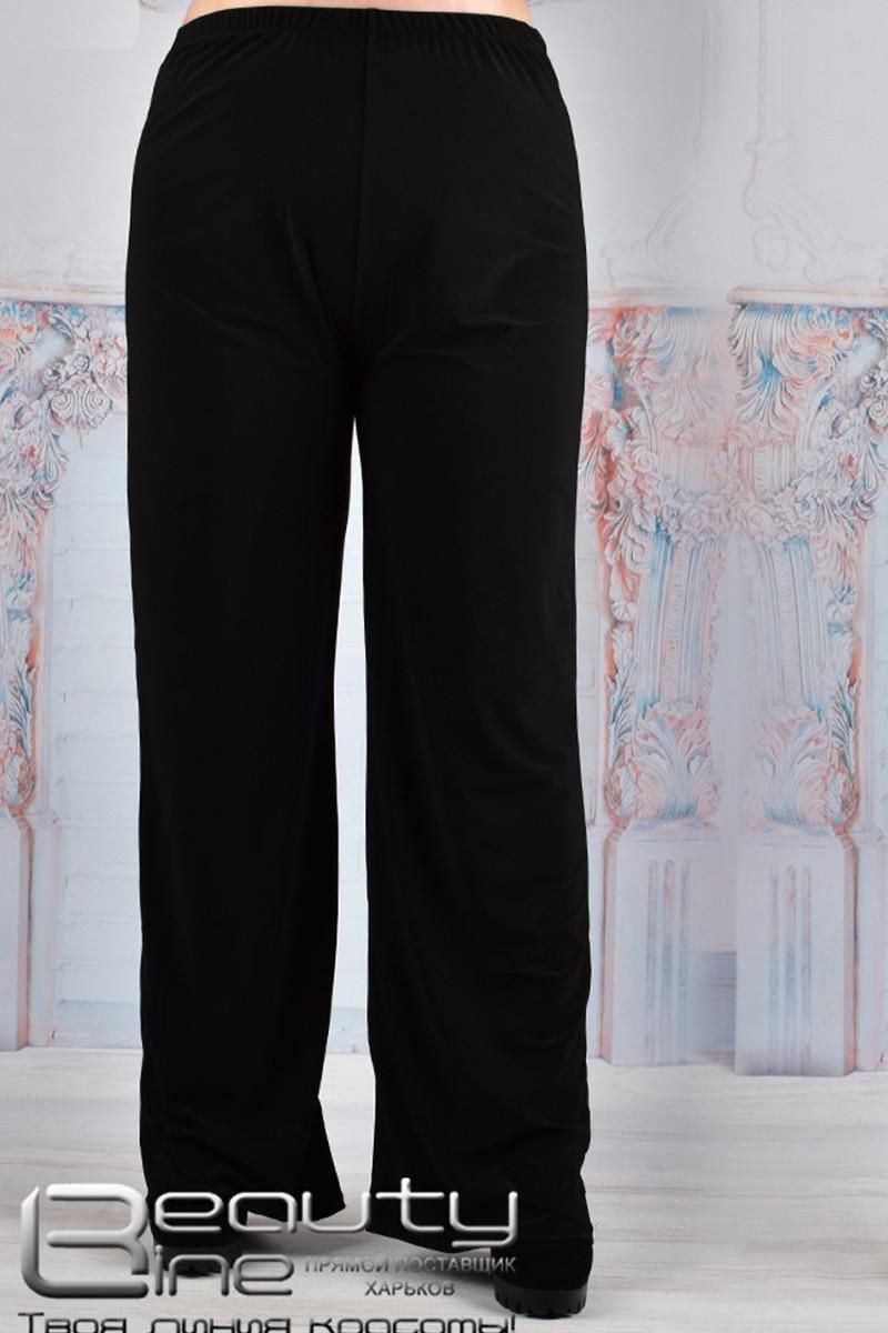 Класичні чорні штани з масла для повних