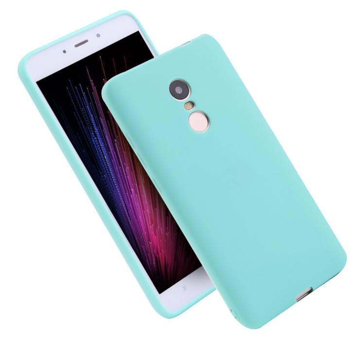 Силиконовый чехол Xiaomi Redmi Go матовый Mint (Мятный)