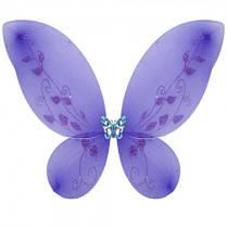 Крылья Бабочки средние фиолетовые 40х40см