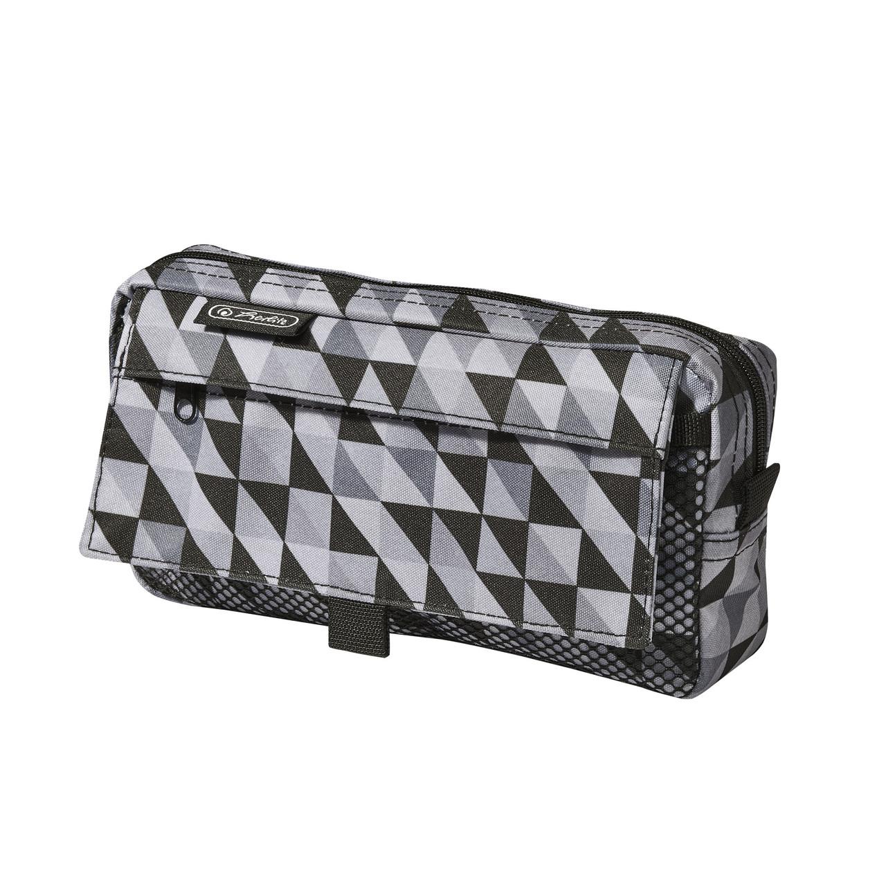 Пенал Herlitz Pockets Cubes Black Черный (5002245)