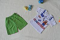 Детский летний комплект для мальчика футболка + шорты, производитель: Турция