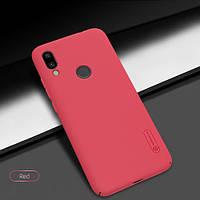 Чехол-бампер Nillkin Super Frosted Shield Red для Xiaomi Redmi 7, фото 1