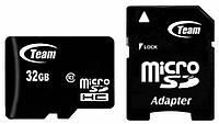 Карта памяти Team MicroSDHC 32GB Class 10 + adapter