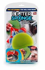 Набір універсальних силіконових щіток-губок Better Sponge, фото 3