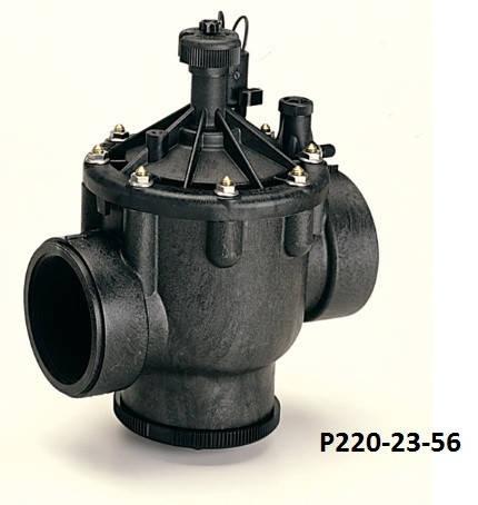 Электромагнитный клапан пластиковый P220‐23‐56  Toro, фото 2