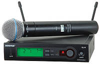Rental of sound equipment:Shure SLX Beta 58a