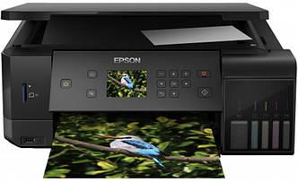 МФУ А4 цв. Epson L7160 Фабрика печати c WI-FI (C11CG15404)