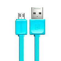 Кабель Remax RC-008m Fast Data Micro-USB 1M Blue