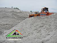 Песок речной (мытый) для стяжки