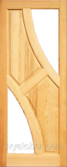 Дверное полотно Симетрия 2000х800х40 под стекло