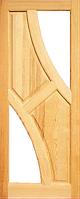 Дверное полотно Симетрия 2000х900х40 под стекло