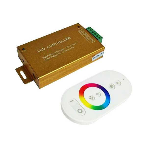 Контроллер для LED ленты RGB радиоуправление сенсорный 288 ВТ.