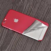 Красная наклейка JUSFYU для iPhone 7