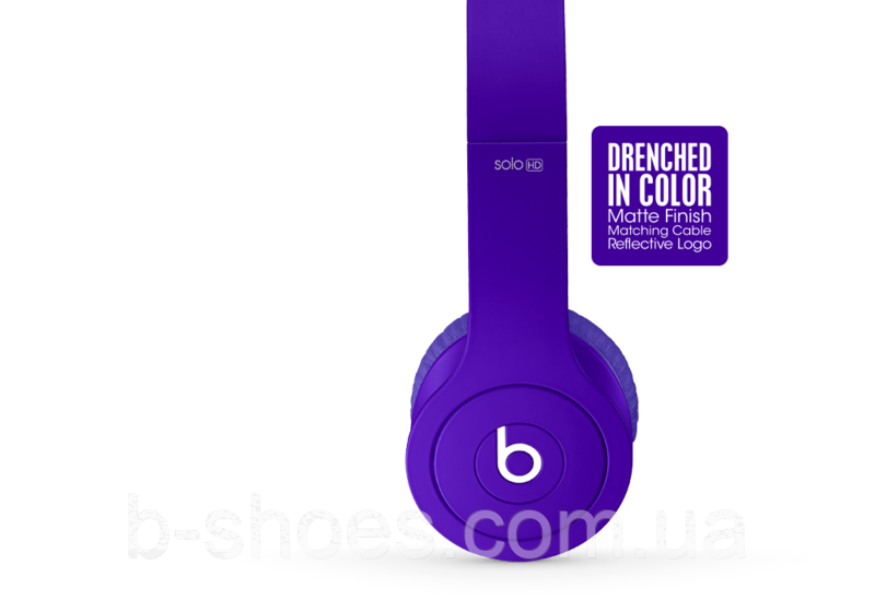 Beats by dr.dre Solo 2 Purple