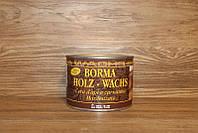 Пчелиный воск, Holz-Wachs, Темный орех (63), 500 мл., Borma Wachs