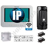 IP комплект Wi-Fi видеодомофона DS-KH6310-W + DS-KB8112-IM