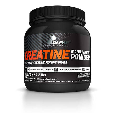 Креатин Creatine monohydrate powder Olimp 550 грамм, фото 2