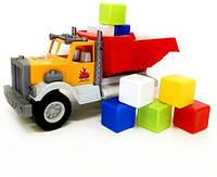 Фарго машина игрушечная с 12 кубиками, ТМ Киндервей, Украина 12-010-5
