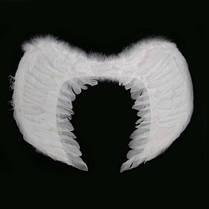 Крылья Ангела Большие 40х60 см белые