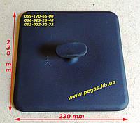 Пресс чугунный для гриля квадратный 230х230 печи, барбекю, мангал, гриль, сковороды, фото 1
