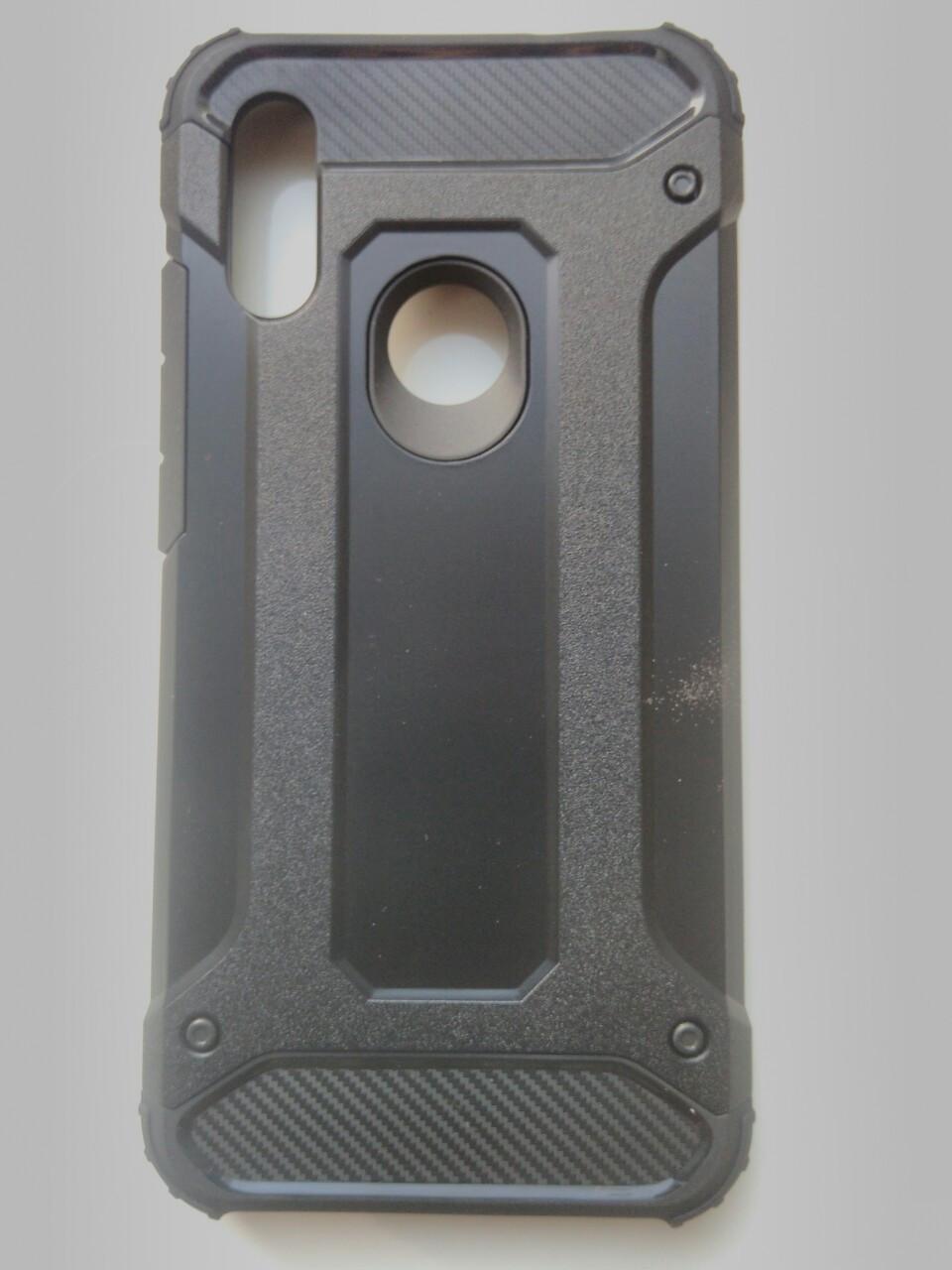 Чехол трансформер  противоударный Xiaomi Redmi 7  (черный)