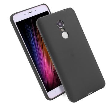 Силиконовый чехол Meizu M9 Note черный матовый