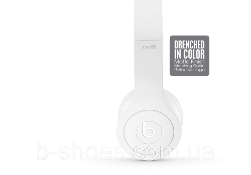 Beats by dr.dre Solo 2 White