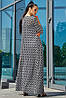 Женский длинный кардиган с поясом (3559-3561 svt), фото 5