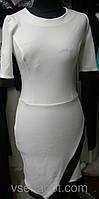 Платье летнее с шлейфовой юбкой