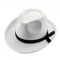 Шляпа Мужская (белая)