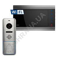 Комплект Wi-Fi IP видеодомофона ARNY AVD-720M+вызывная панель AVP-NG420 (125°)