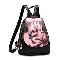 Рюкзак женский с ярким принтом, фото 1
