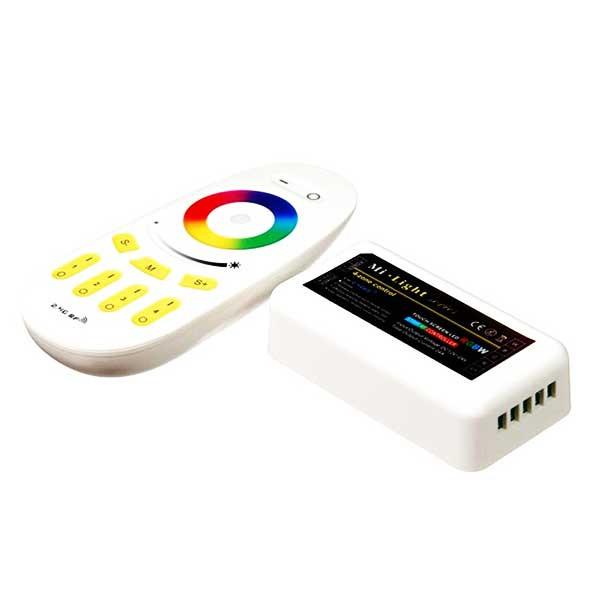 Контроллер для LED ленты RGB радиоуправление сенсорный 288 ВТ. 2.4 ГГц. до 4 зон управления