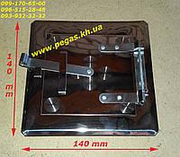 Дверка сажетруска нержавейка 90х90 мм печи, дымоход, барбекю, грубу