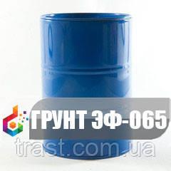 Грунт для противокоррозионной защиты металлических поверхностей ЭФ-065