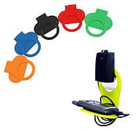 Подставка для смартфона с зарядным на розетку (ЦВЕТ СЛУЧАЙНЫЙ) SKU0000162, фото 1