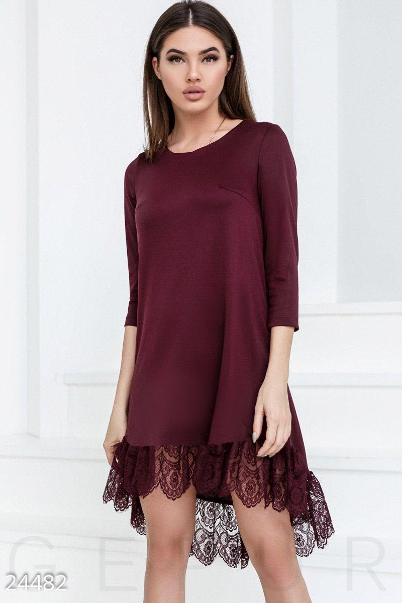 0f953a729e8b504 Красивое расклешенное платье - Интернет-магазин одежды ТОПШОП в Мариуполе