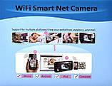 Поворотная Wi Fi IP-камера видеонаблюдения,ночная съемка,видеоняня, фото 6