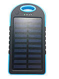 Power Bank Solar 50000 mAh + Фонарь павер банк солнечный аккумулятор, фото 3