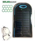 Power Bank Solar 50000 mAh + Фонарь павер банк солнечный аккумулятор, фото 4