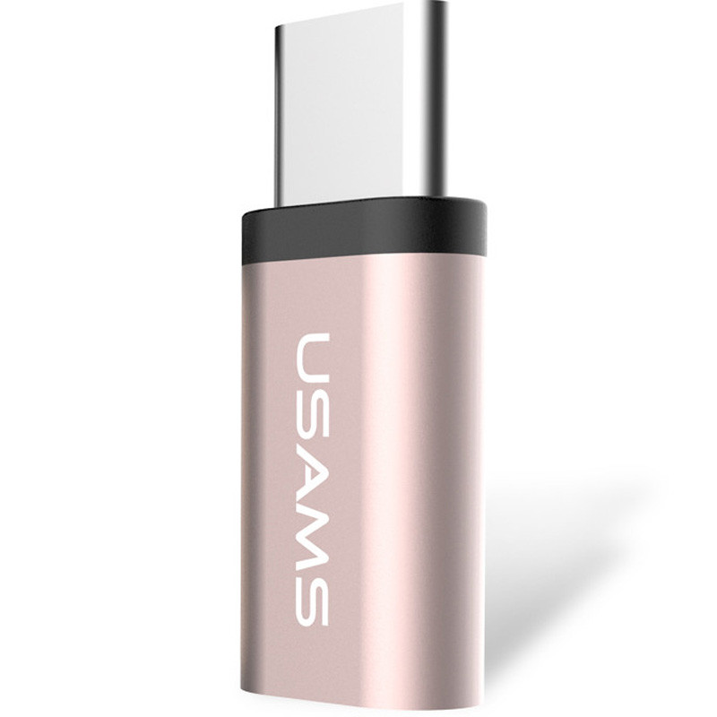 Переходник Usams US-SJ021 Type-C to Micro USB