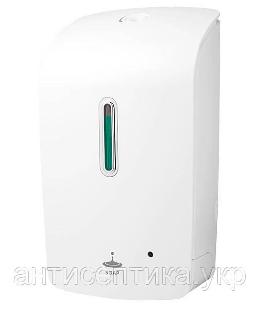Сенсорный автоматический дозатор 1л  для жидкого, гелиевого спиртового антисептика и мыла