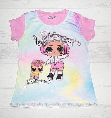 "Детская футболка на девочку ""LOL"""