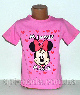 "Детская футболка на девочку ""Минни Маус"""