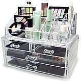 Органайзер для косметики акриловыый Cosmetic Box, фото 2