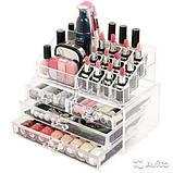 Органайзер для косметики акриловыый Cosmetic Box, фото 3